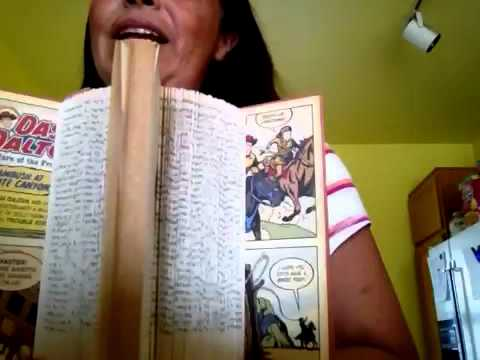 How To Easy Altered Book Art Page Folding Youtube