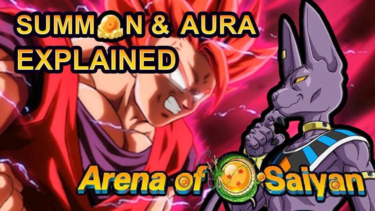 Arena of saiyan - Summon and RI aura explained