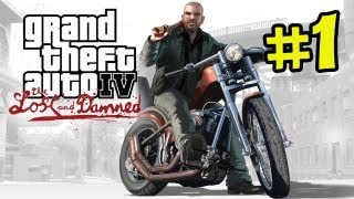 GTA IV - The Lost and Damned Gameplay Walkthrough Part 1 - Johnny (GTA 4 Grand Theft Auto)