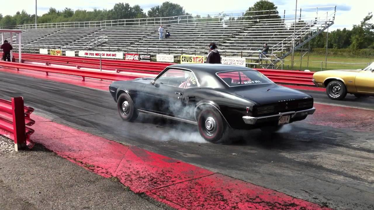 Drag It Out 2011  >> 2011 Pure Stock Muscle Car Drag Race 1968 Royal Firebird Raii Burn