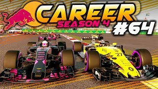 F1 2017 Career Mode Part 64: FLAT OUT FIGHT FOR THE TOP 6 DRIVERS
