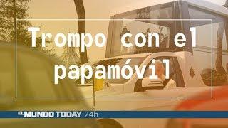 El papa Francisco hace un trompo con el papamóvil  | El Mundo Today 24H