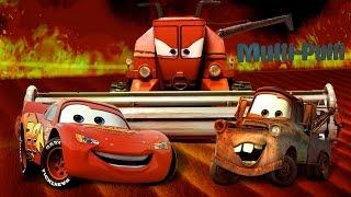 Мультики машинки. Тачки игра: Молния Маквин - Бегство от Френка. Cars toon McQueen