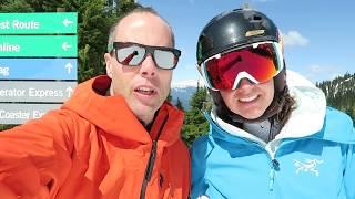 Spring Skiing at Whistler Blackcomb // Discover Whistler