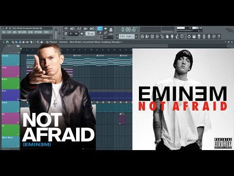 How to Produce Not Afraid by Eminem in FL Studio .