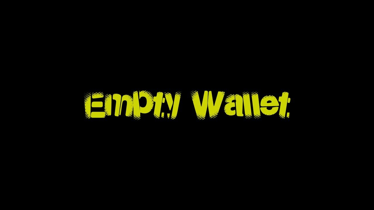 John Alishking - Empty Wallet Пустой кошелёк