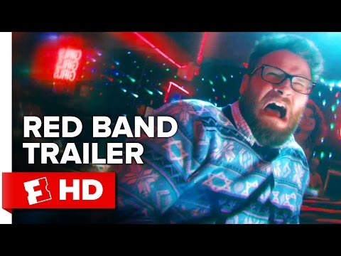 The Night Before Red Band Official Trailer #2 (2015) - Joseph Gordon-Levitt, Seth Rogen Movie HD