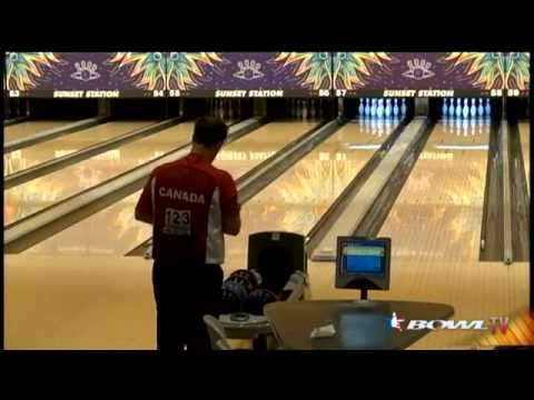 Canada's George Lambert shoots 300 to win Masters at PABCON Bowling Championships