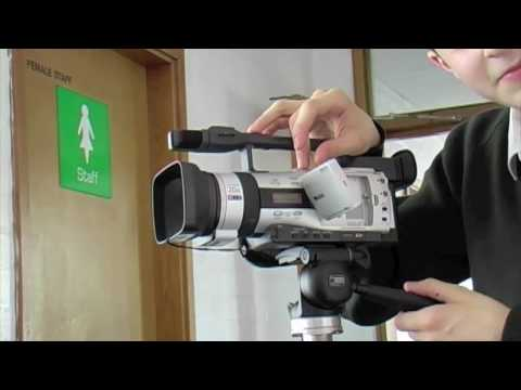 CandM Video Diary: how to set up a cannon camcorder