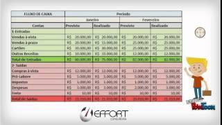 Fluxo de caixa - Aprenda a administrar seu caixa (Planilhas eficientes para Controle Empresarial) thumbnail