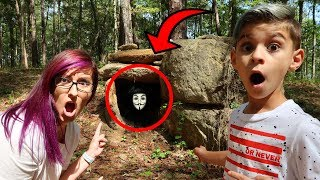 Exploring The Hackers Abandoned Hideout!