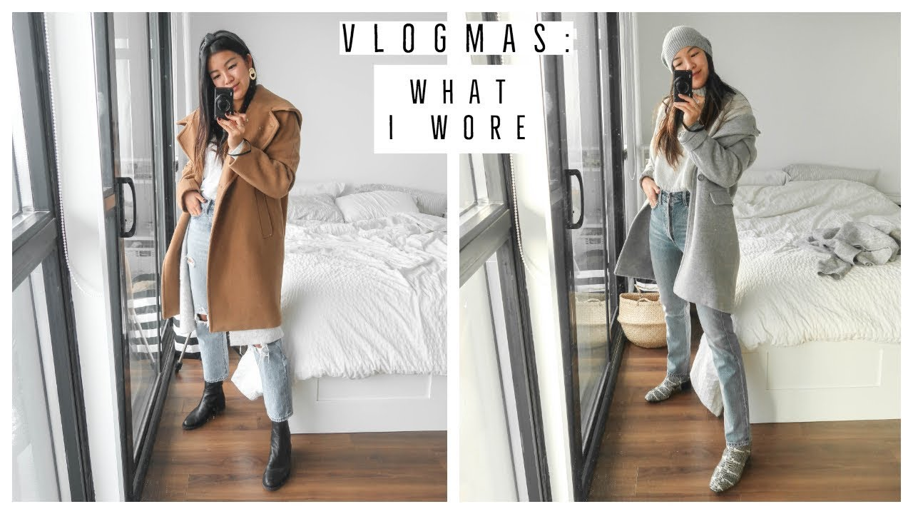 EASY WINTER OUTFIT IDEAS | WHAT I WORE | VLOGMAS !! 11 6