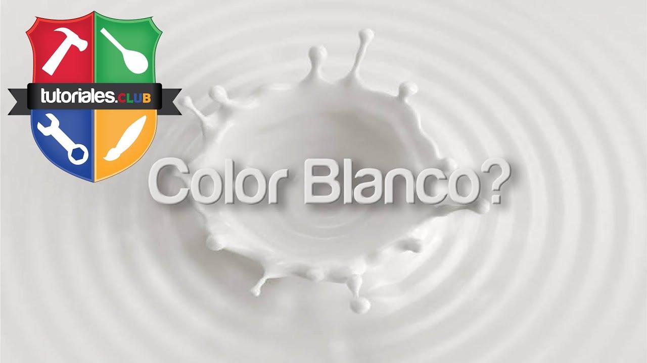 Como Se Hace El Color Blanco Ostion