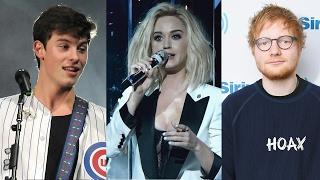 Katy Perry, Shawn Mendes & Ed Sheeran To Perform At 2017 iHeartRadio Music Awards