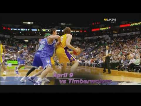 LOS ANGELES LAKERS 2009-2010 NBA Journey by Fox Sports West! GO LAKERS!