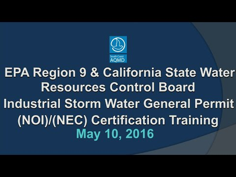 State Water Board Webcast - May 10,2016