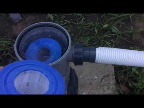 Changing Bestway Pool Filter