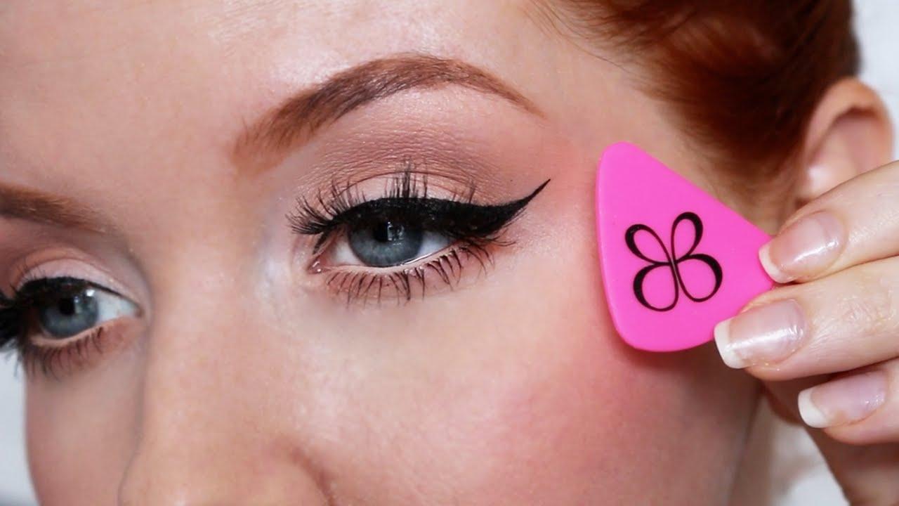 Easy winged eyeliner tutorial bb liner designer demo youtube baditri Image collections