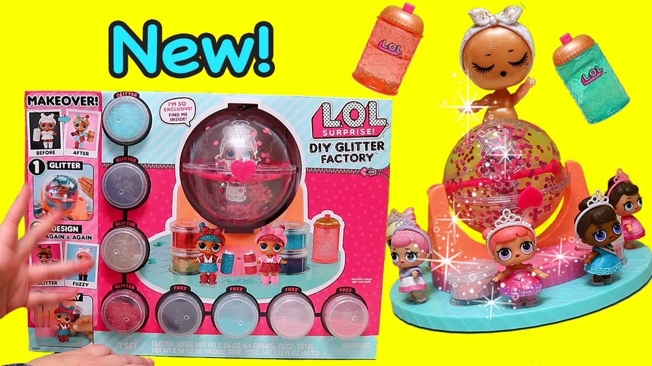 Lol Surprise Glitter Factory Toys And Dolls Pretend Play For Kids Swtad