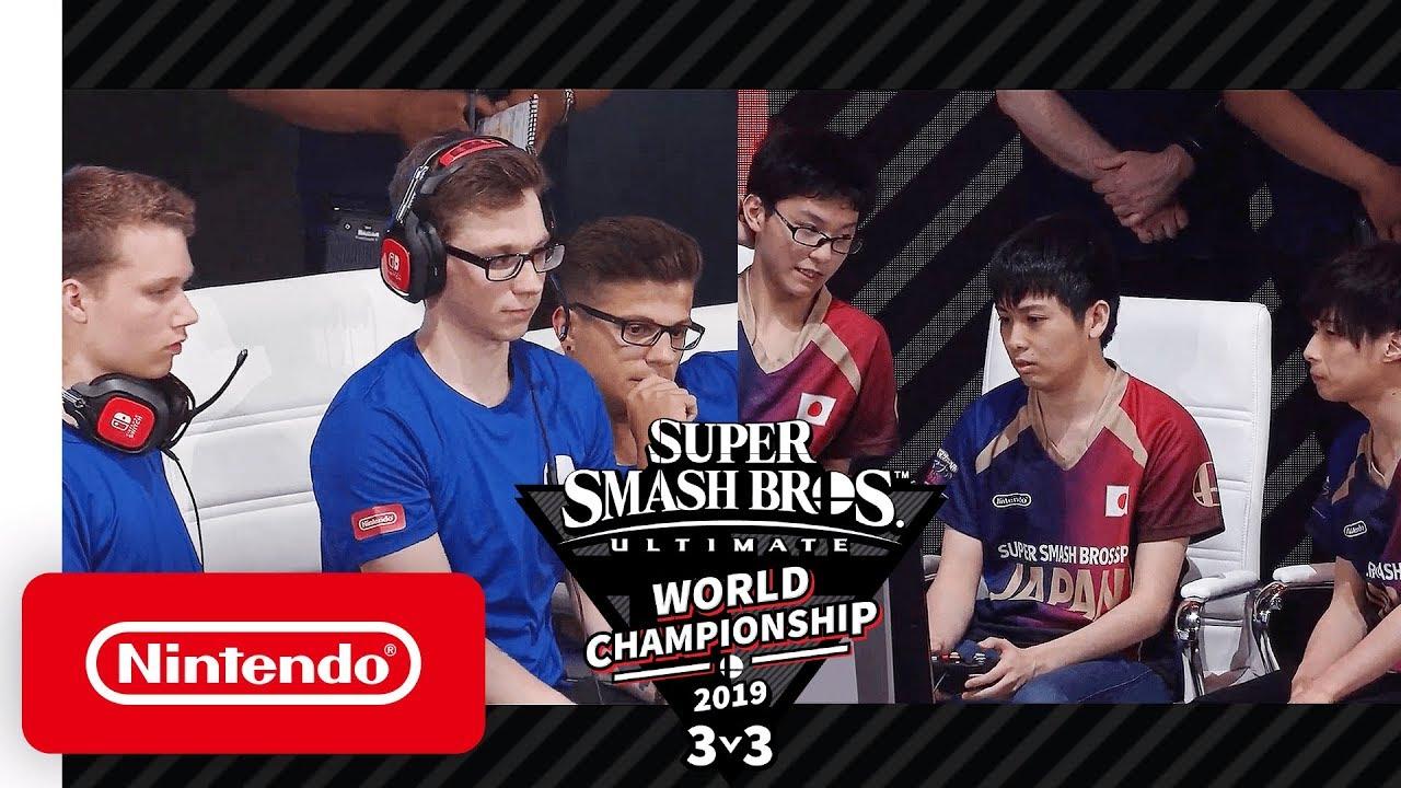 Super Smash Bros  Ultimate World Championship 2019 3v3 Finals