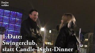 Datezusage für Porno-Club-Besuch - German Pick Up Infield