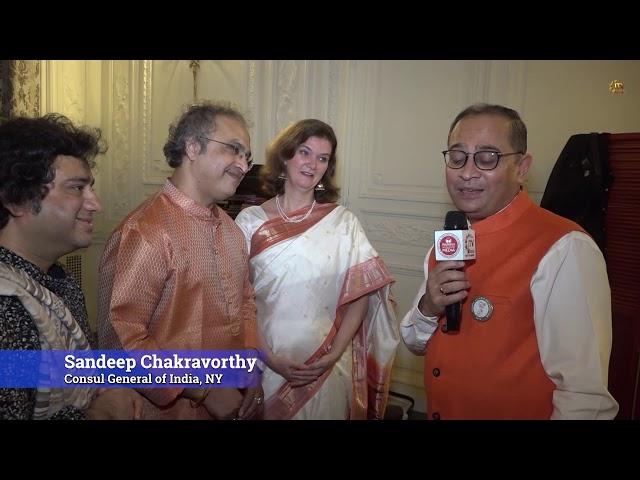 Indian Consulate Hosts Baithak - Homage to Gandhi - New York City
