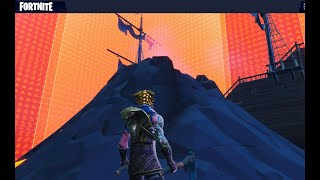 Most Realistic Fortnite Creative Scrim Simulator - 4 Wall Moving Zones - Volcano Base V2