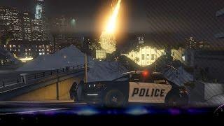 [GTA V] Tsunami & Meteorieten regen! - Het einde van Los Santos (GTA5 Mods)