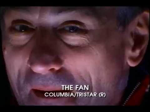 The Fan Movie Trailer 1996 - Robert De Niro, Wesley Snipes