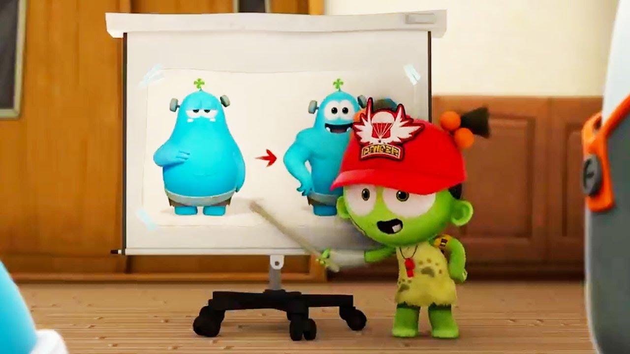 Zizi Is Frankie's New Coach | Spookiz | Cartoons for Kids