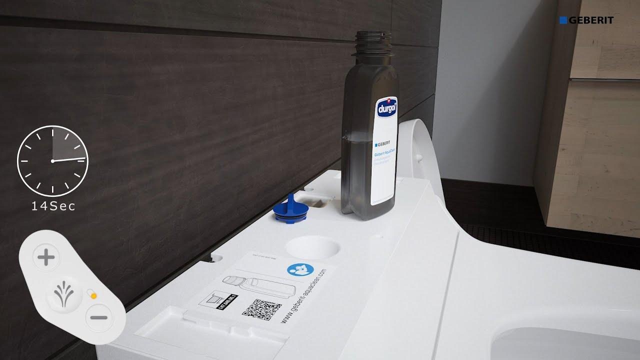 Geberit AquaClean Tuma Comfort Service – Maintenance