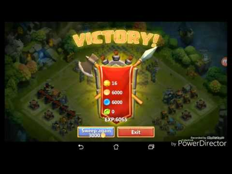 Castle Clash Evolving And Power Levelling Death Knight!