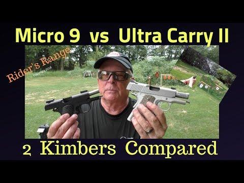Kimber Micro 9 Vs Ultra Carry II