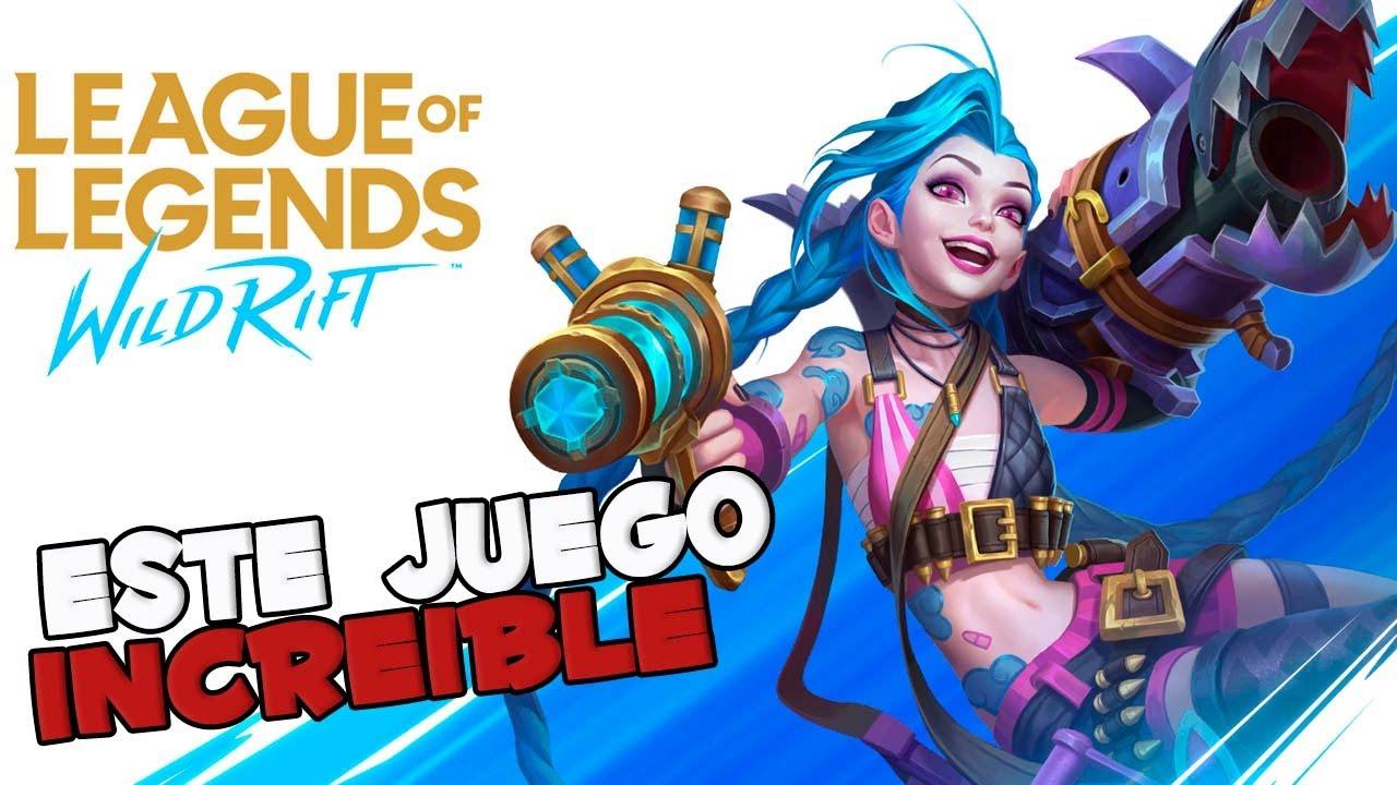 este juego esta increible league of legend wild rift mi inicioAriel056