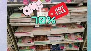 Michael's 70% off Paper Pads Haul