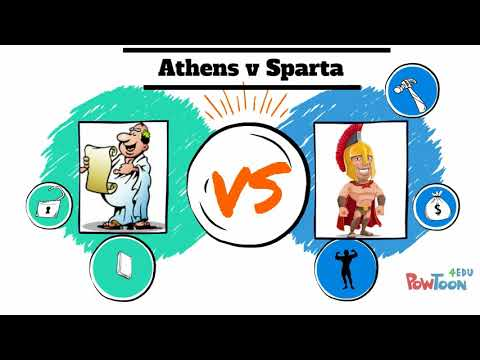 Athens Vs Sparta