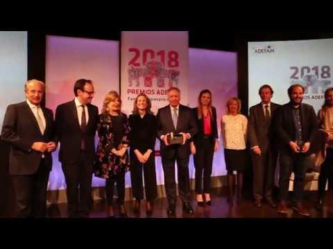 I Edición Premios ADEFAM, marzo 2018