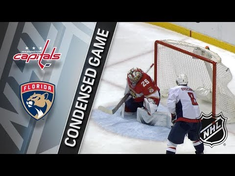 Washington Capitals vs Florida Panthers – Jan. 25, 2018 | Game Highlights | NHL 2017/18 Обзор