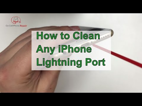 How to clean your iPhone 6 charging port