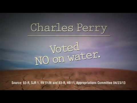 Arrington For Texas Senate Water Ad