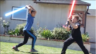 REVENGE OF THE KIDS - How Kids Play Star Wars (Parody) thumbnail