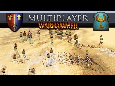 Carcassonne vs Turin's Tomb Kings (Total War: Warhammer 2 Online Battle #273)