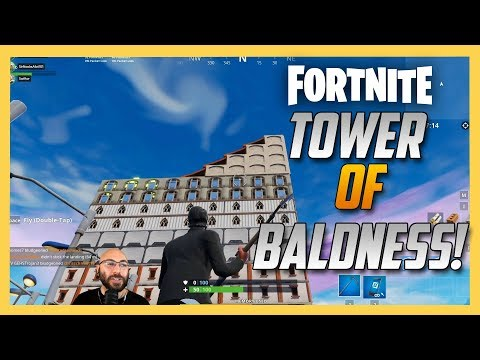 Tower of Baldness - 7 Floor Maze! Fortnite Creative - Code Inside