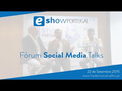 eShow Portugal 2015, Fórum Social Media Talks