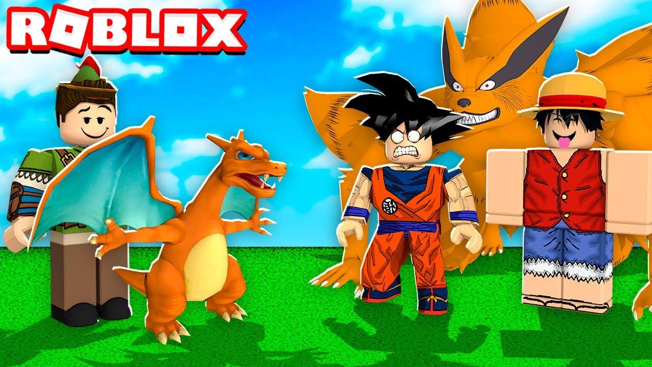 FÁBRICA DO POKEMON NO ROBLOX!! (Anime Tycoon)