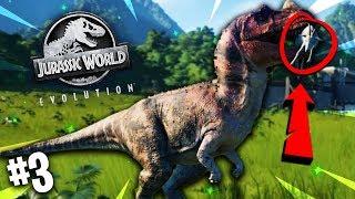 PARK ROZWIJA SIĘ ŚWIETNIE! | Jurassic World Evolution #3