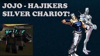 Roblox Hajkers Bizarre Adventure Silver Chariot Showcase!