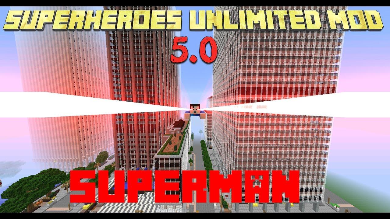 Superheroes unlimited mod 1. 7. 10/1. 6. 4/1. 6. 2/1. 5. 2   minecraft.