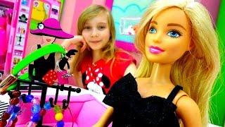 Игры для девочек - Кукла Барби и видео для детей