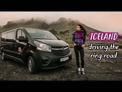 WEEK of VAN LIFE in ICELAND | Ring Road Trip | Eamon & Bec